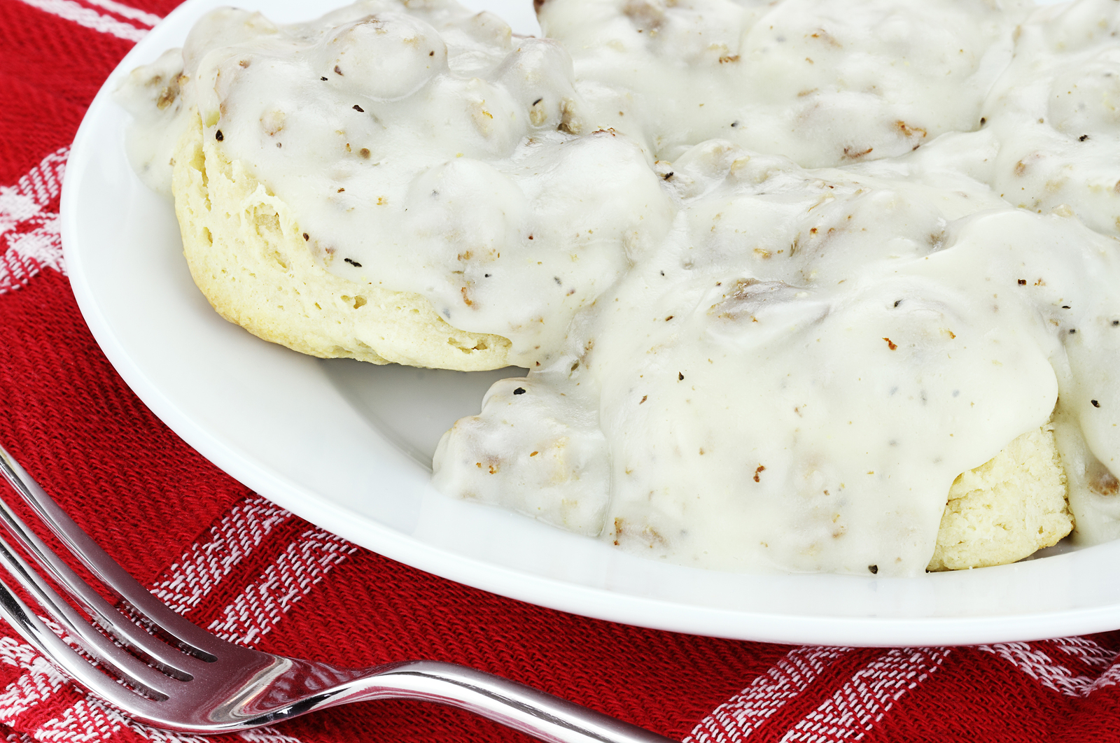 sausage gravy from our family farm
