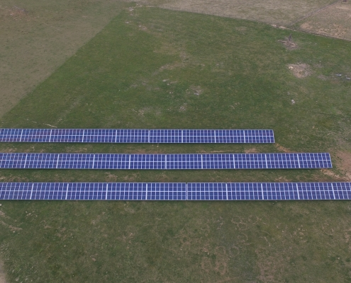 solar panels for our non-gmo mill